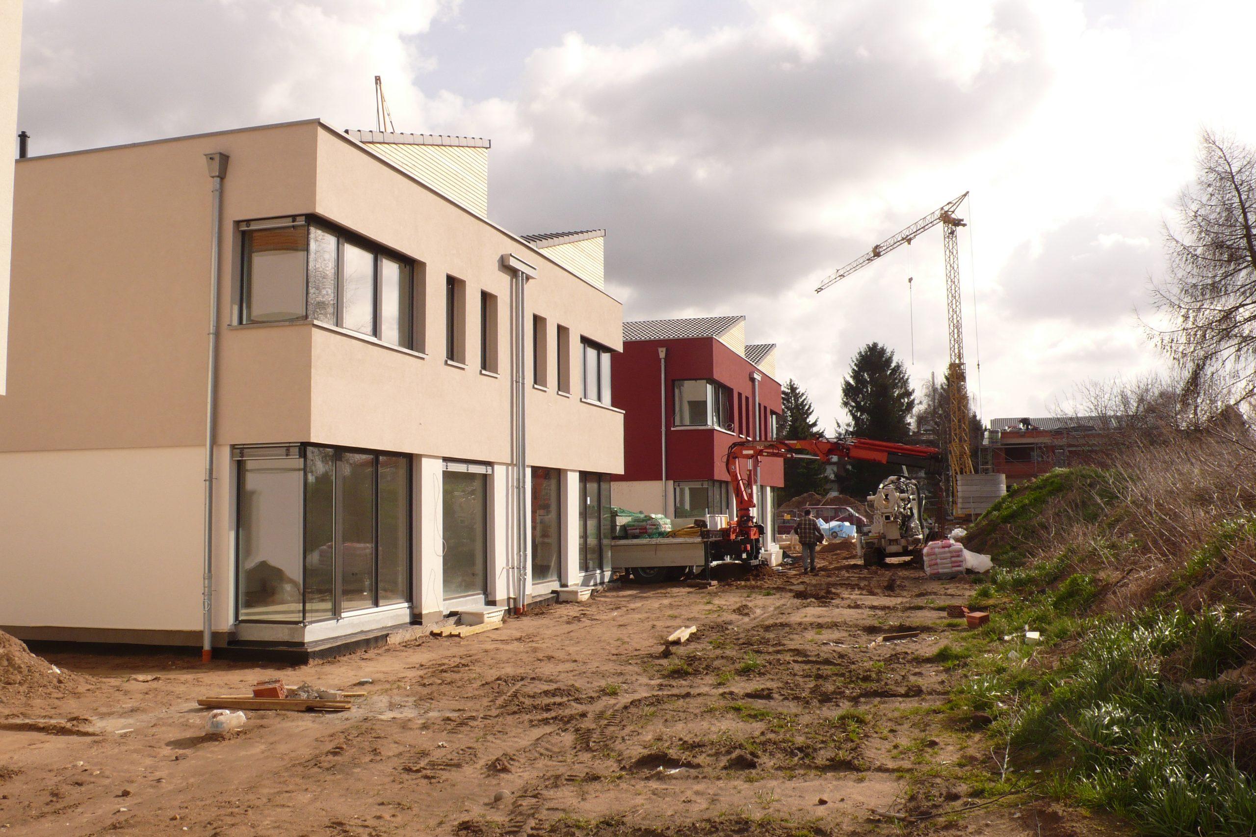 Geothermie im Neubau - Doppelhäuser