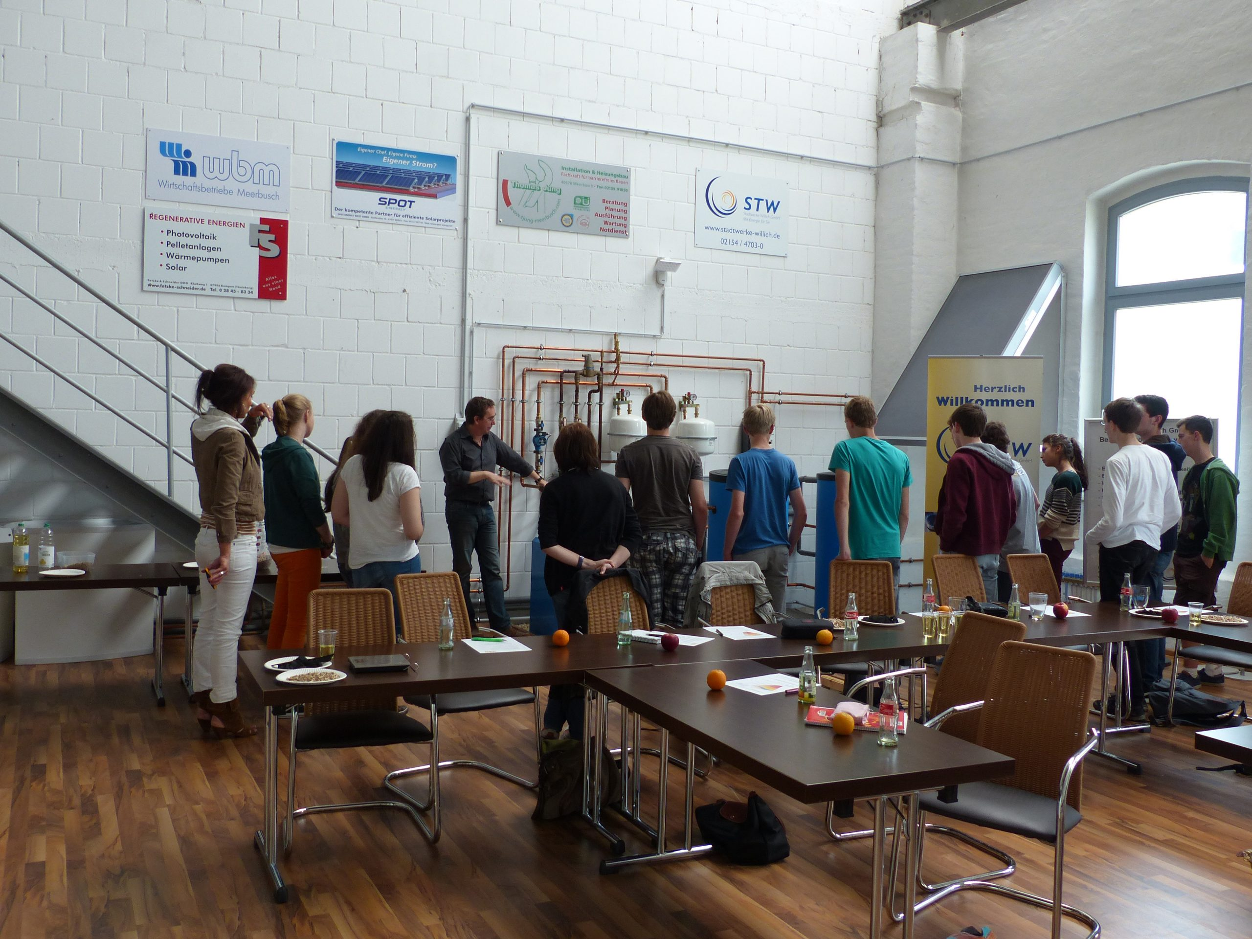 Erneuerbare Energie für Schulklassen erklärt