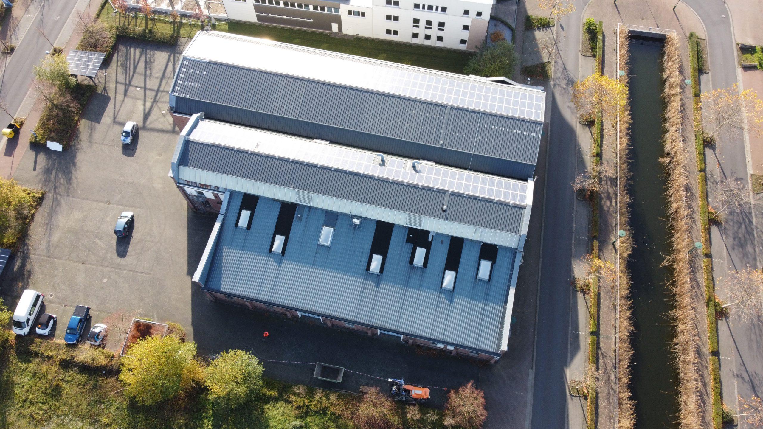 Luftbild unseres Büros in Willich